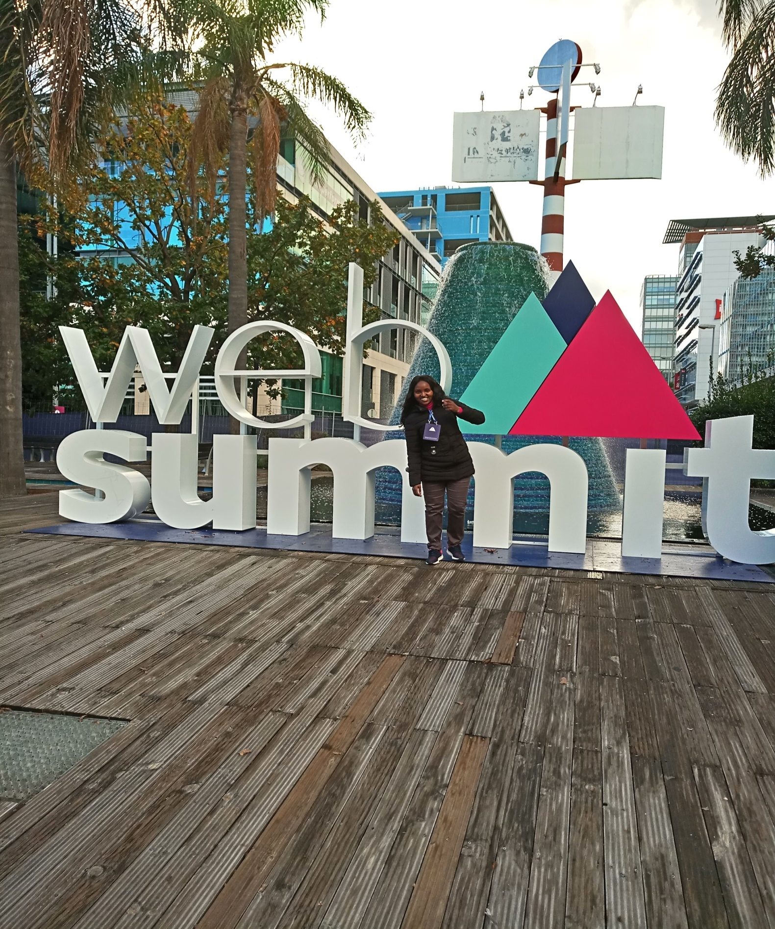 Susan In Websummit